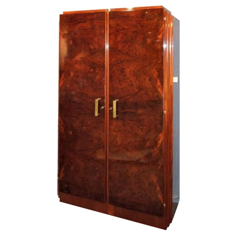Art Deco Wardrobe At 1stdibs