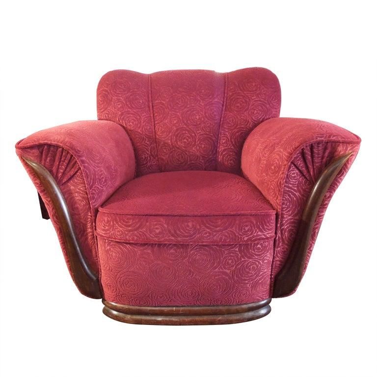 Art Deco Club Chair At 1stdibs