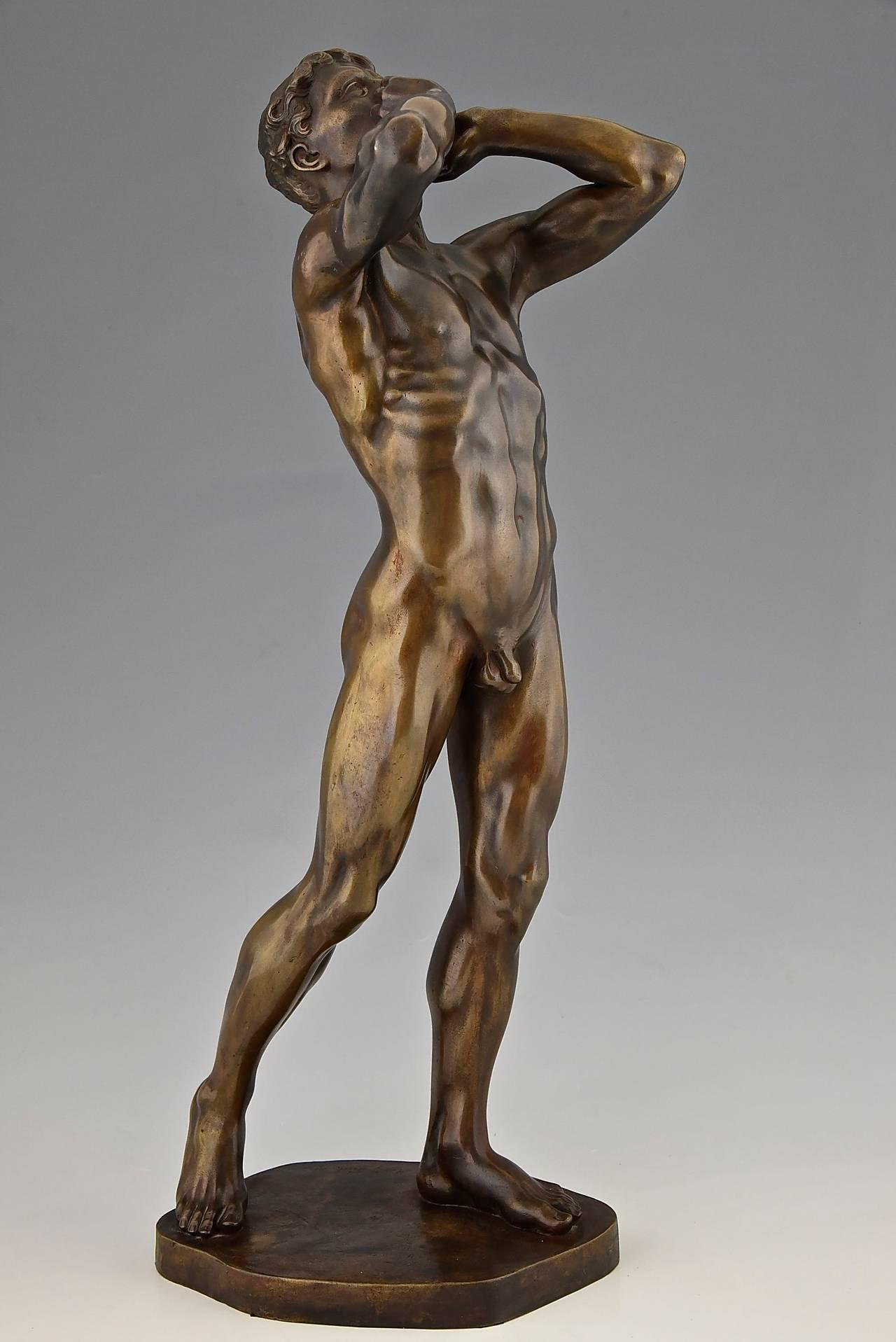 Nude Male Statue