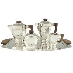 Art Deco Tea And Coffee Set By Argit, France.