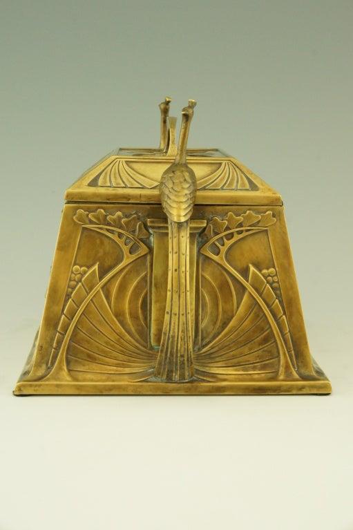 Art Nouveau jewelry box by WMF 2