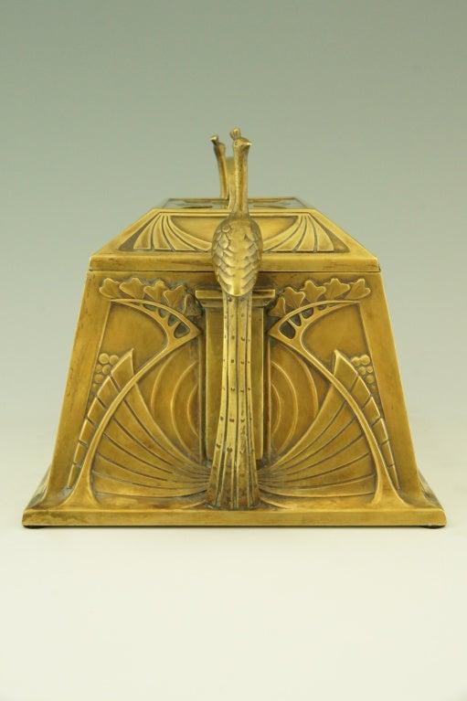 Art Nouveau jewelry box by WMF 4