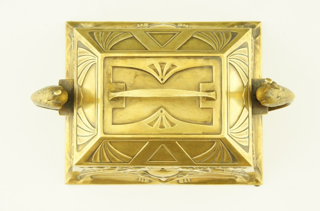 Art Nouveau jewelry box by WMF 5