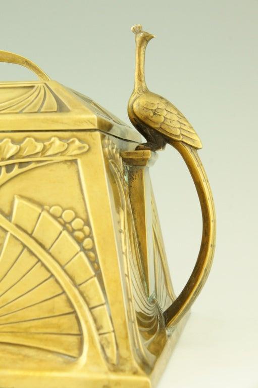 Art Nouveau jewelry box by WMF 8