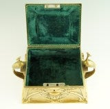 Art Nouveau jewelry box by WMF image 9
