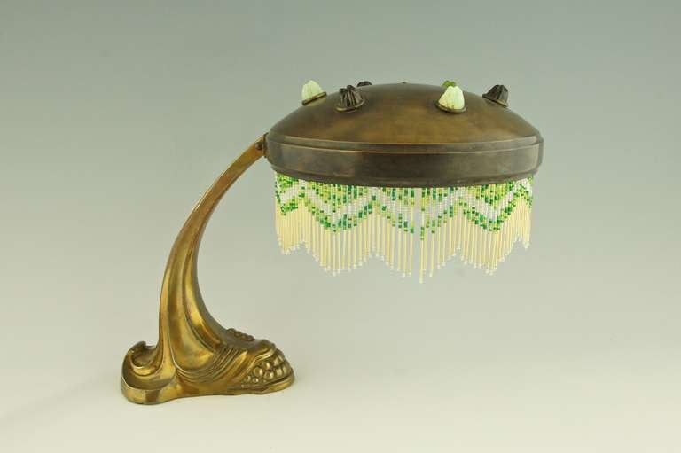 A French Art Nouveau Piano Of Desk Lamp Ca 1900 At 1stdibs