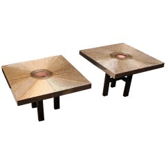 Set Of Two End Tables By Lova Creation