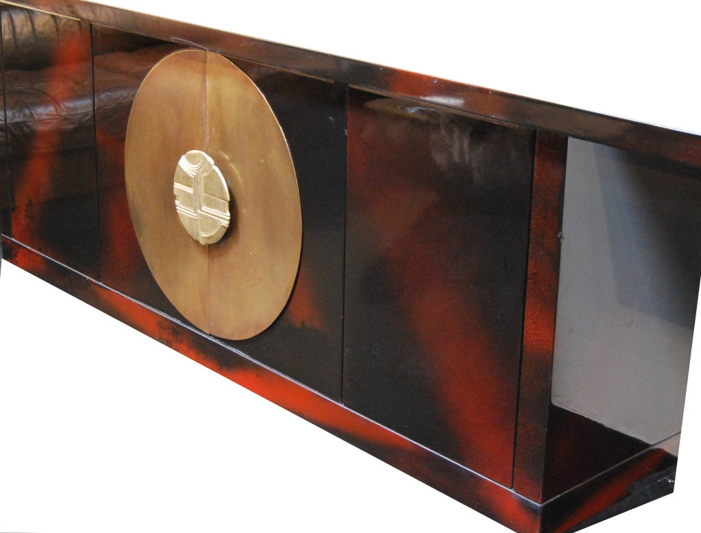 Christian Krekels Lacquered Dresser At 1stdibs