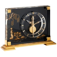 Desk clock by Jaeger-LeCoultre