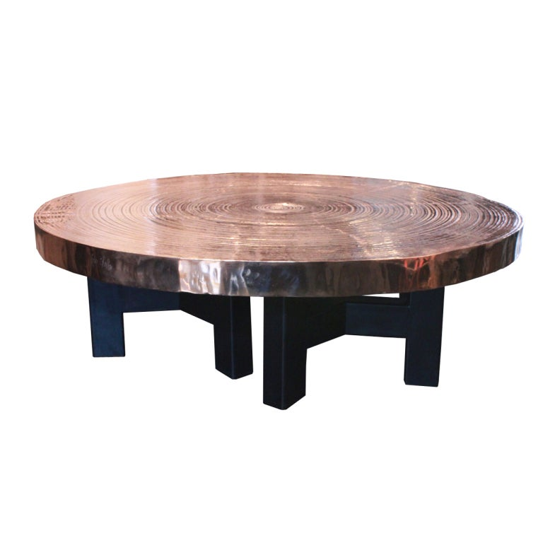 Bronze Coffee Table By Ado Chale At 1stdibs