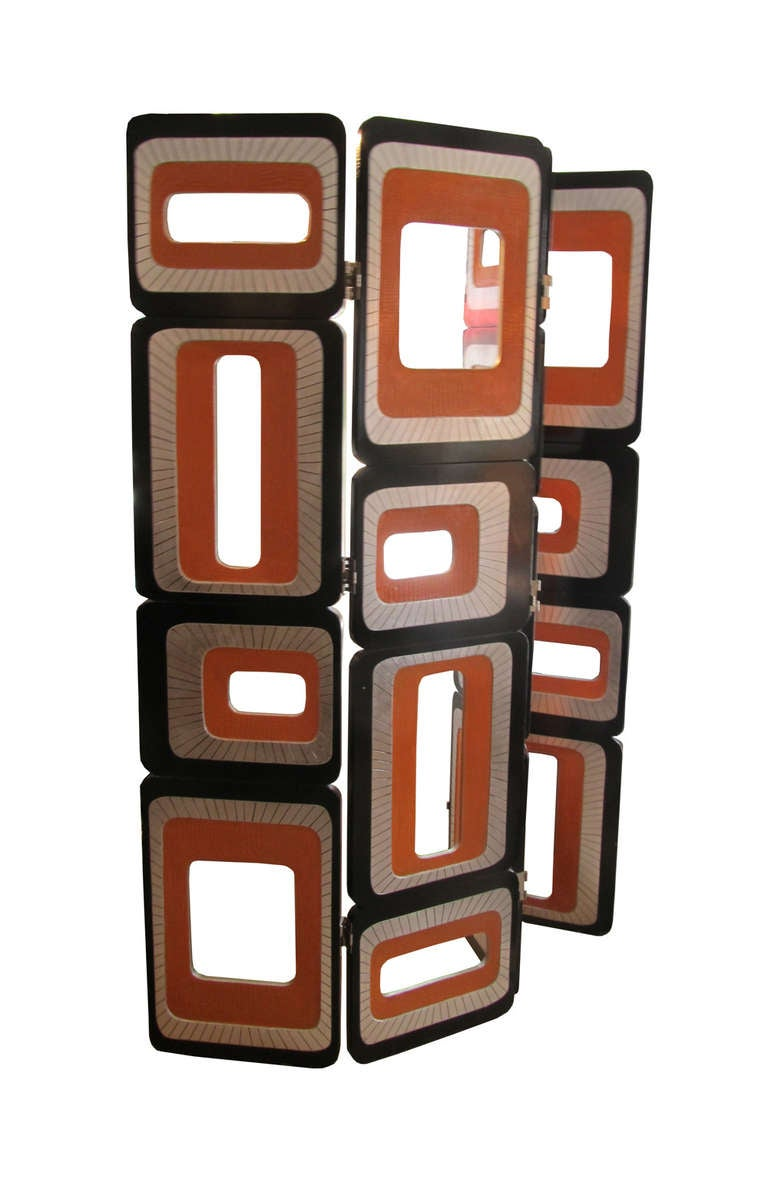 Pair of Screens by Pierre Cardin 2