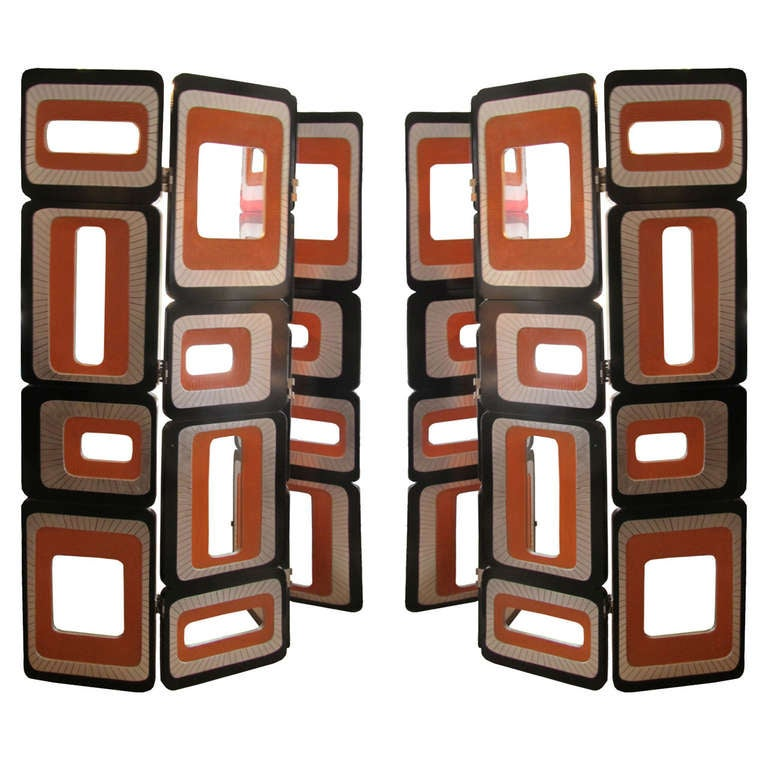 Pair of Screens by Pierre Cardin 1