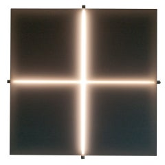 "Important large Aldo van den Nieuwelaar ""Cross"" wall light."
