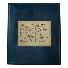 "Picasso Rug ""Peace and Joy,"" Edition of 500"