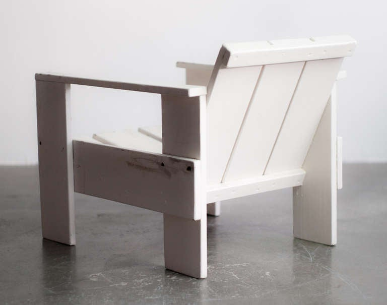Gerrit Rietveld Prewar Crate Chair for Metz & Co, 1934 8