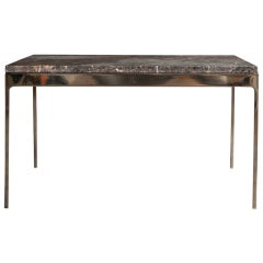 Coffee Table By Nicos Zographos With Amazing Stone Top