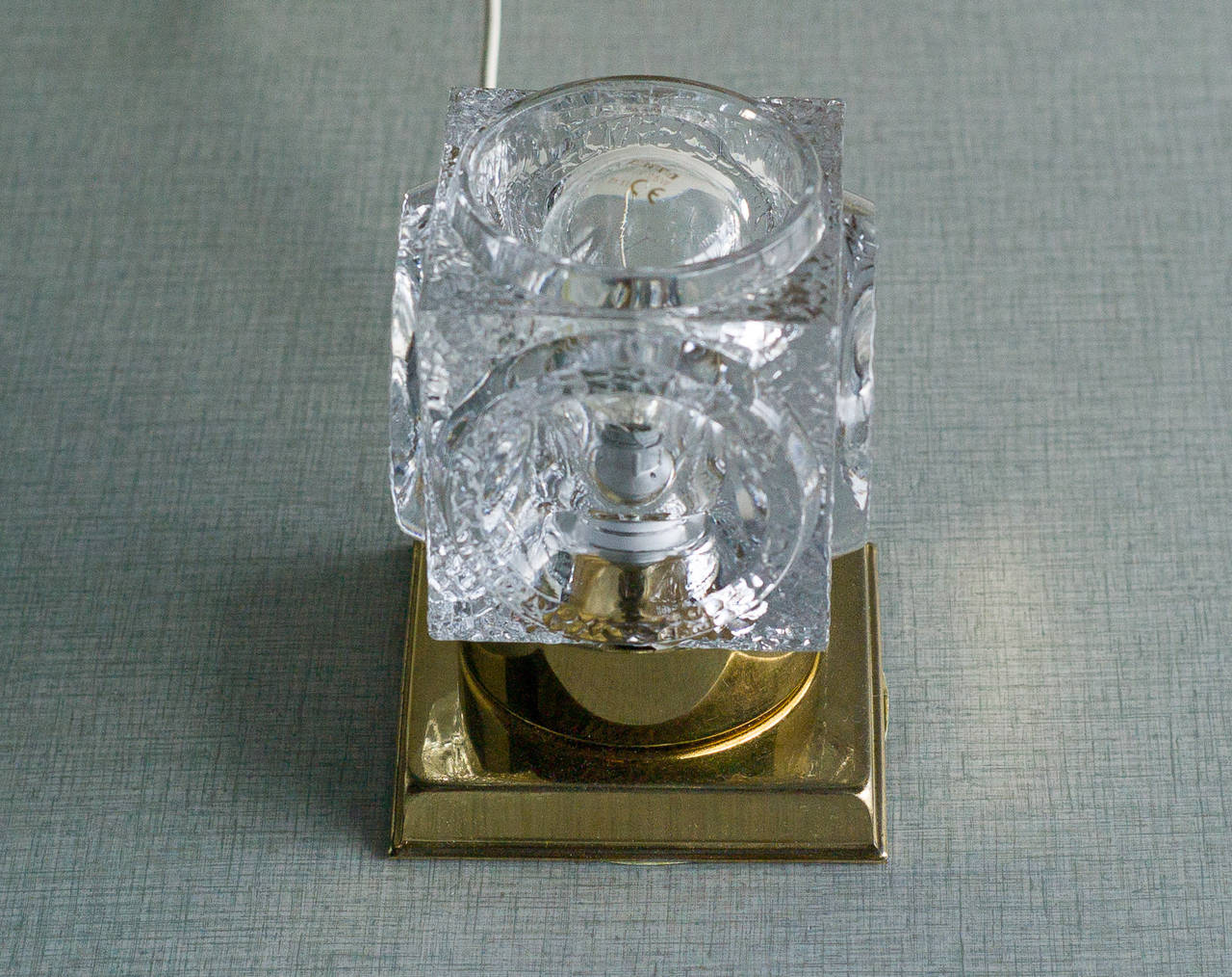 Peill and Putzler Ice Cube Table Lamp at 1stdibs