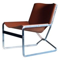 Extremely rare Pierre Paulin for A. Polak Originals loungechair