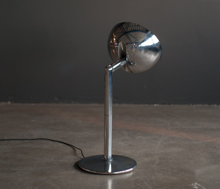 Rare 1970 s chrome Playmaker wall / desk lamp at 1stdibs