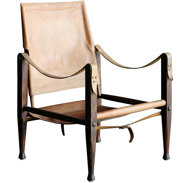 Kaare Klint Safari Chair at 1stdibs