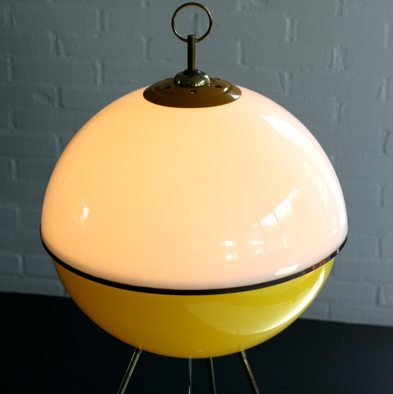 Floorlamp by Gio ponti for Arredoluce In Excellent Condition In Dronten, NL