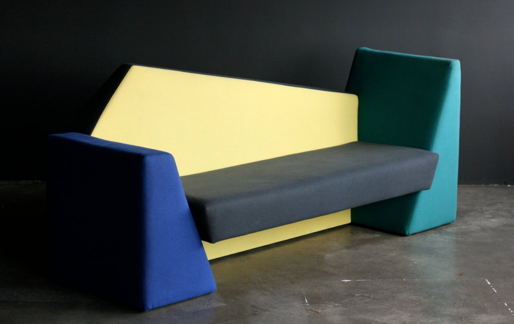 Danish Verner Panton Pantheon Sofa For Sale
