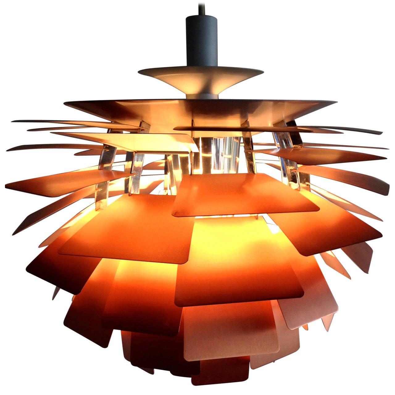 poul henningsen artichoke lamp at 1stdibs. Black Bedroom Furniture Sets. Home Design Ideas