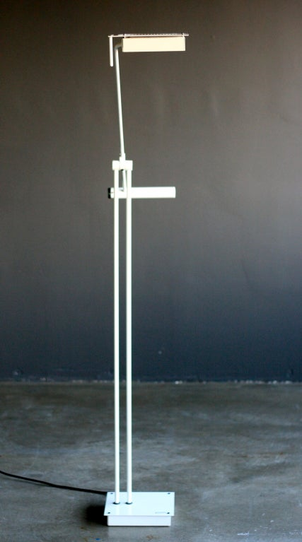 Stilnovo Minimalist Halogen Floor Lamp With Built In
