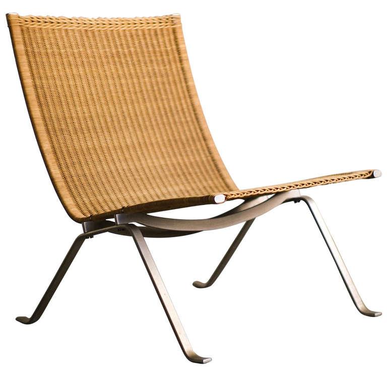 Early Poul Kjaerholm Pk22 Lounge Chair For E Kold