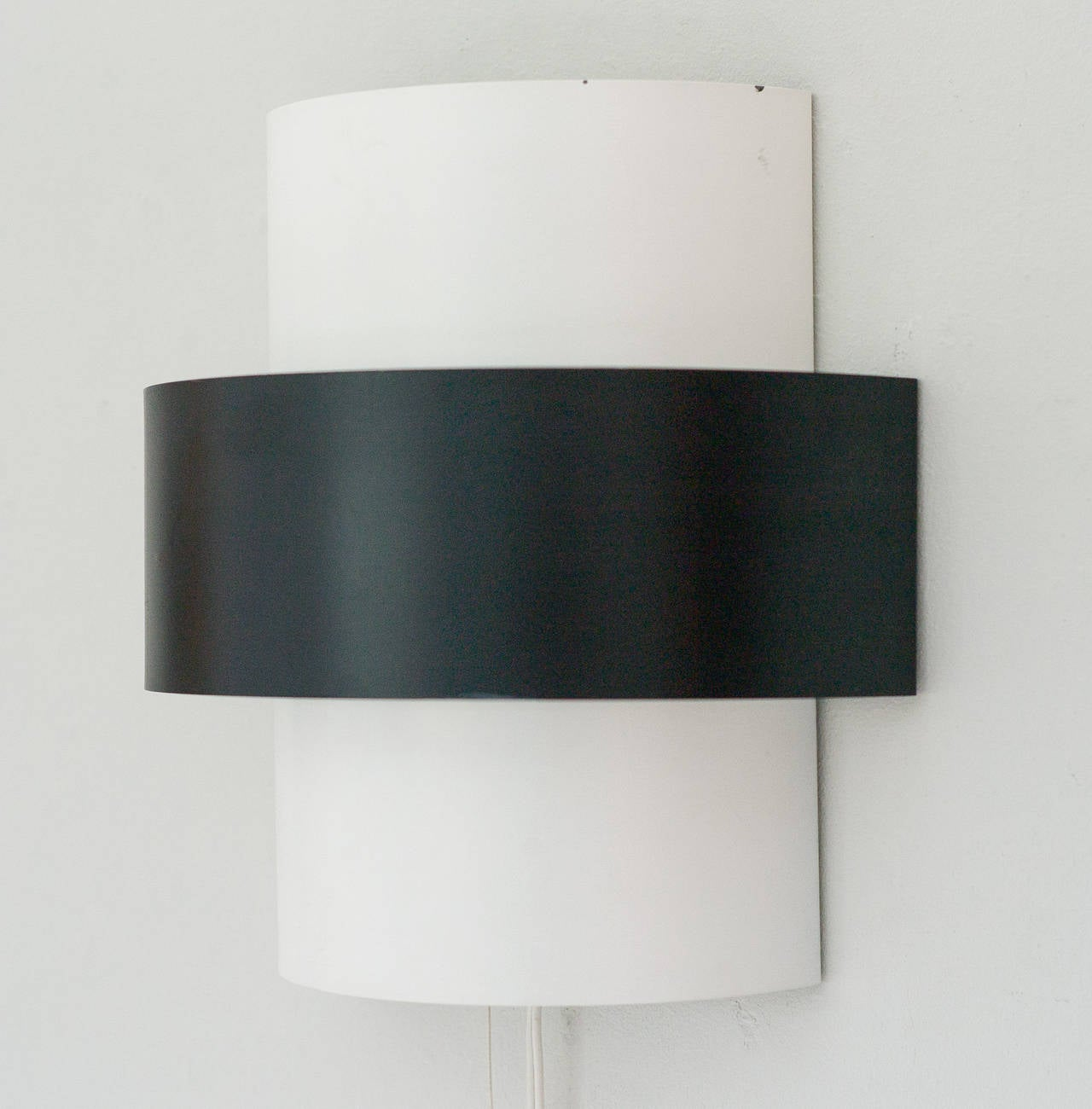Large dutch 1950s minimalist anvia metal sconce at 1stdibs for 1950s minimalist house