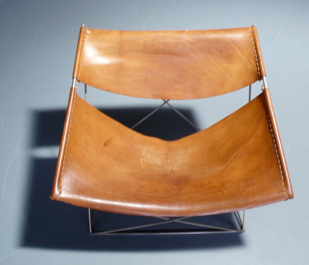 Mid-20th Century F675 Loungechair designed by Pierre Paulin for Artifort