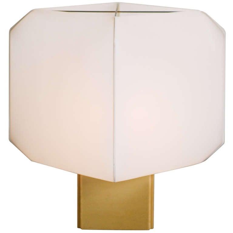 Table Lamp Bali designed in 1958 by Bruno Munari for Danese