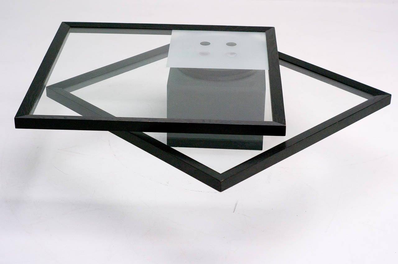 coffee table ligne roset france 1985 at 1stdibs. Black Bedroom Furniture Sets. Home Design Ideas