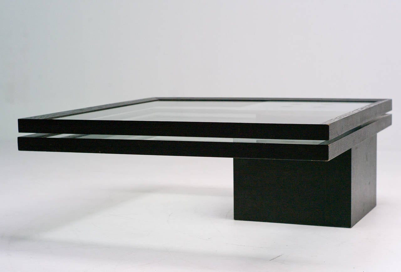 Coffee table ligne roset france 1985 at 1stdibs - Ligne roset table basse ...