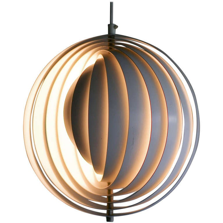 original moon lamp designed by verner panton in 1960 at. Black Bedroom Furniture Sets. Home Design Ideas