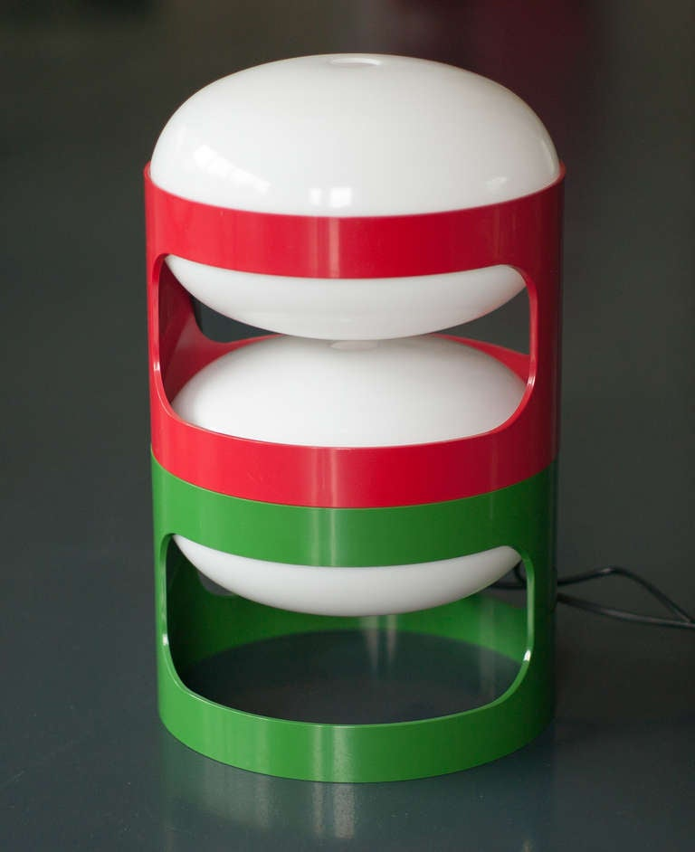 Pair Of Kd 27 Lamps Designed In 1967 By Joe Colombo For