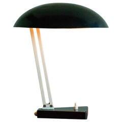 Dutch 1950s Industrial Desk Lamp by H. Th. Busquet