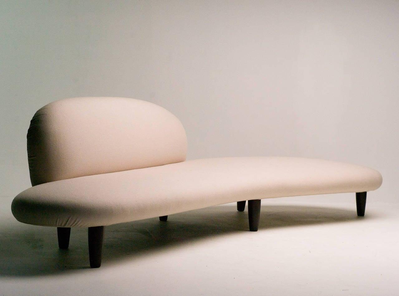 Wood Freeform Sofa By Isamu Noguchi For Vitra