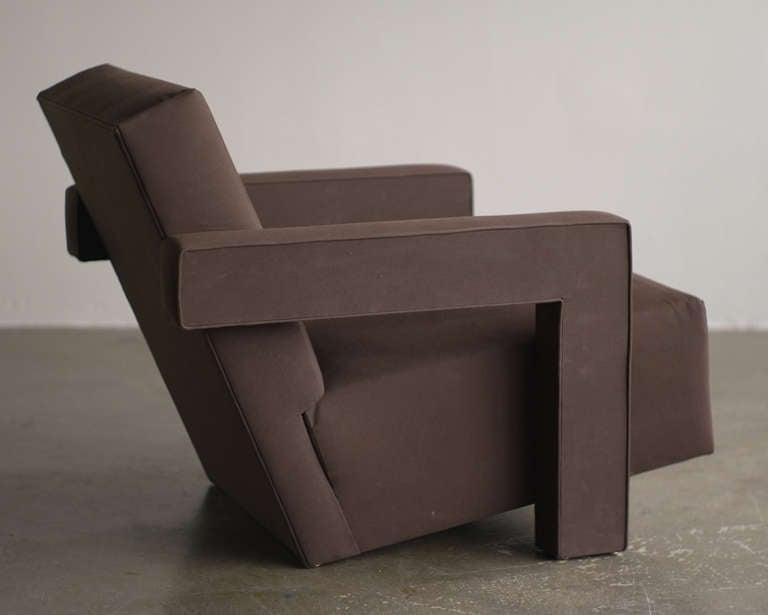 De Stijl 1960s Gerrit Rietveld Utrecht Chair For Sale