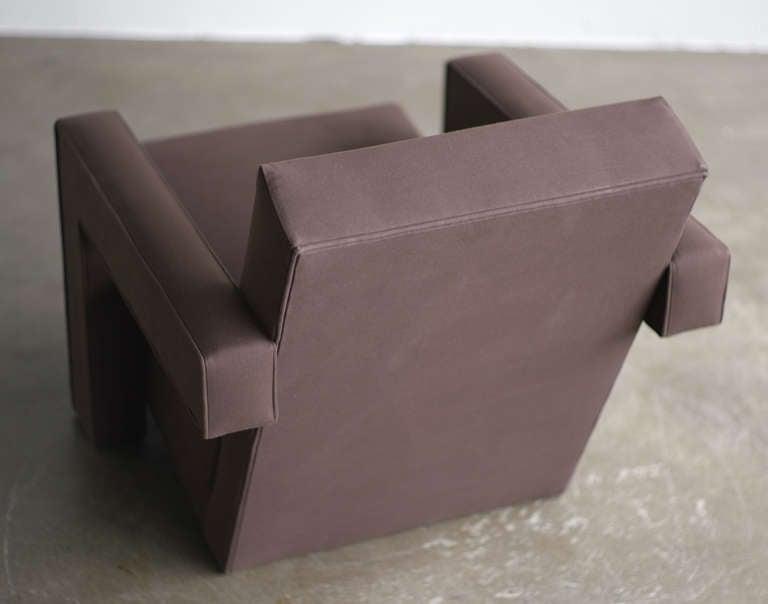 Beech 1960s Gerrit Rietveld Utrecht Chair For Sale