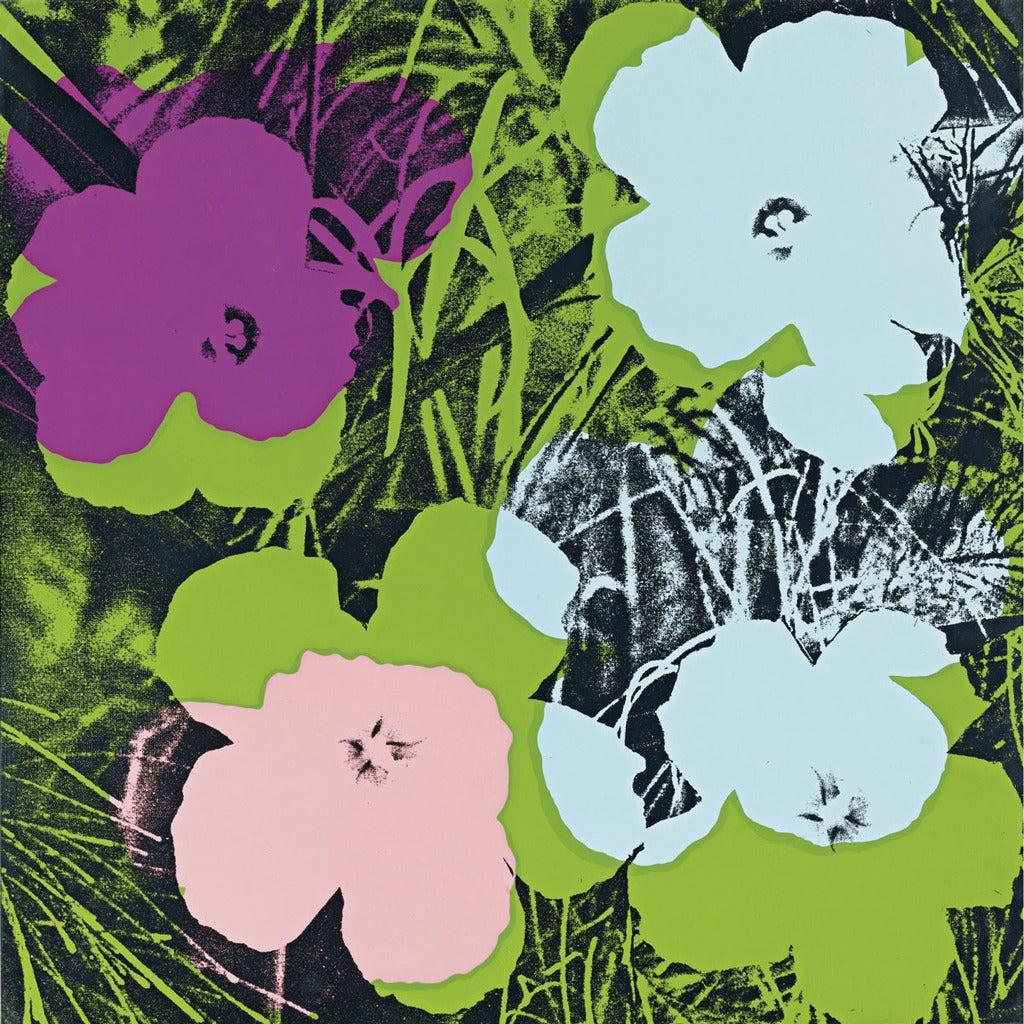 Andy Warhol Flowers Portfolio, 1970 at 1stdibs