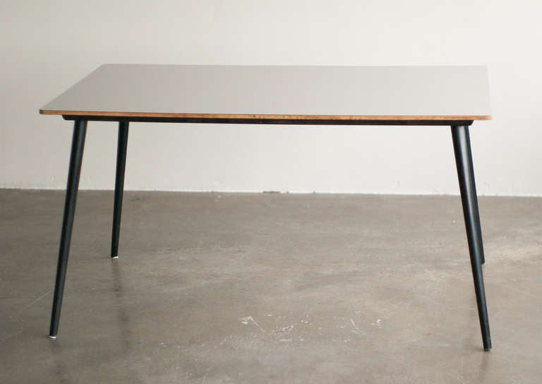 Rare Charles U0026 Ray Eames For Herman Miller DTW10 Dining Table 3