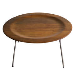 Evans Production CTM in Walnut Designed by Charles Eames for Herman Miller