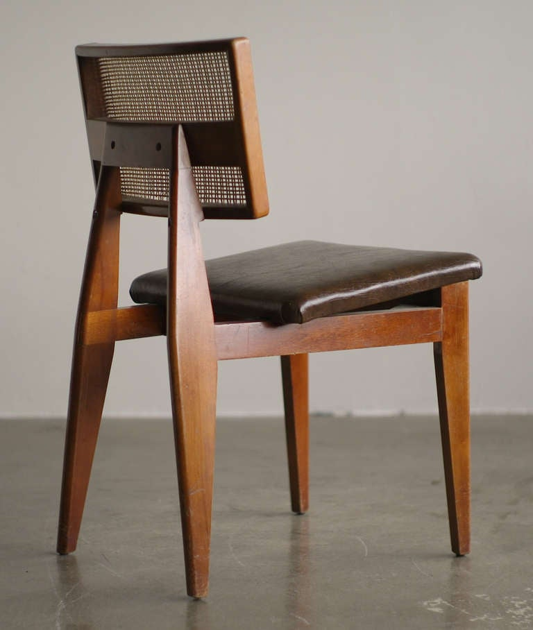 George Nelson Original Cane Back Side Chair 2