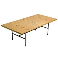 Laminated Plywood Low Table by Tapio Wirkkala for Asko