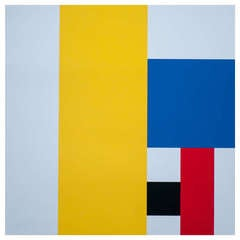 Composition in red, yellow and blue by Jo Niemeyer