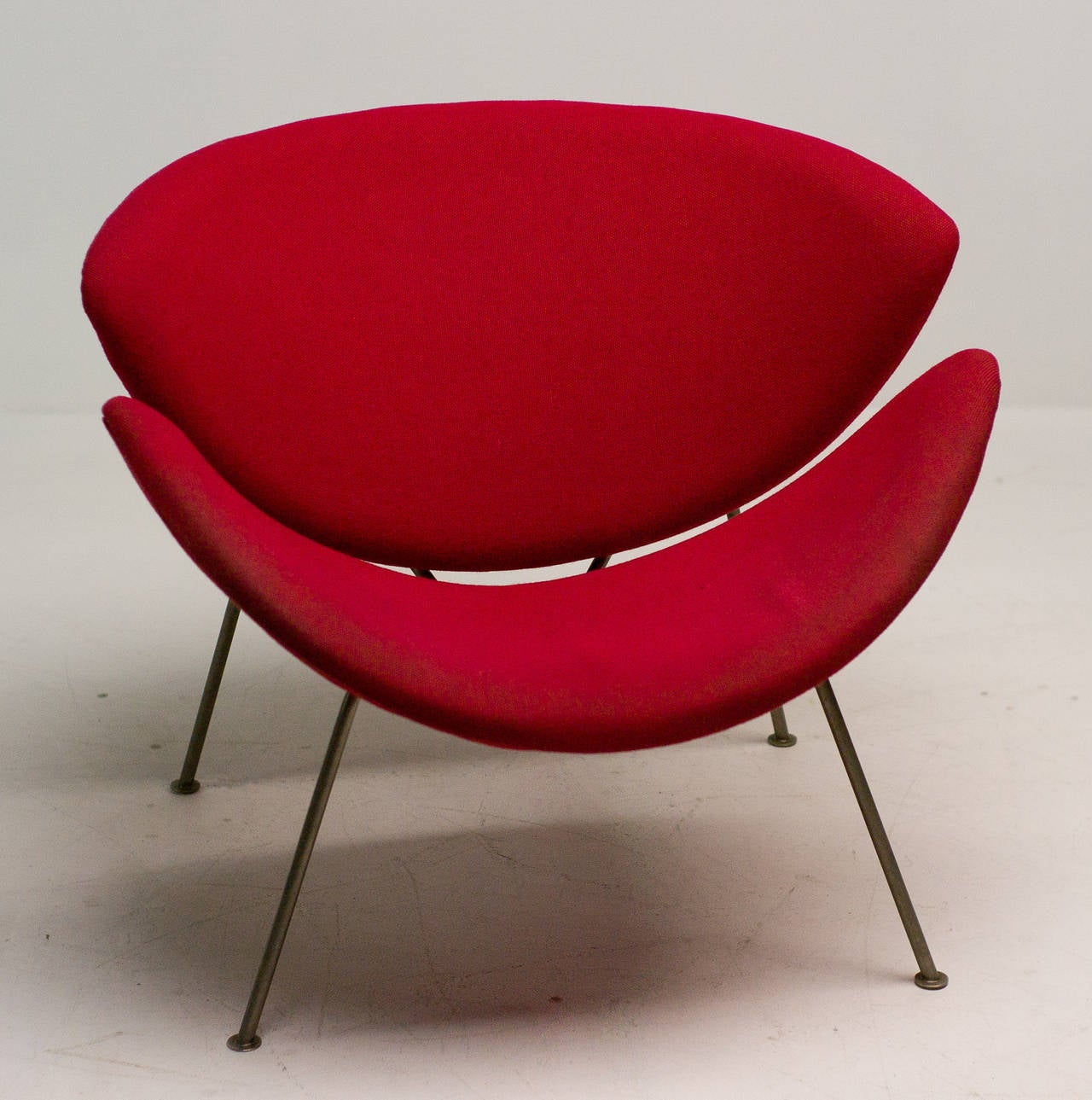 Original Early Orange Slice Chair By Pierre Paulin For Sale At 1stdibs