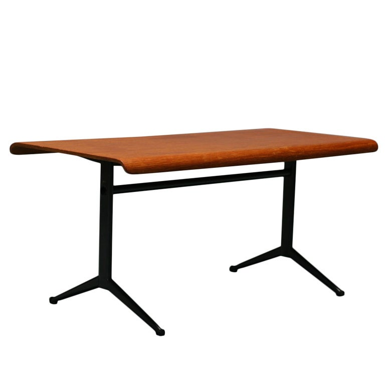 1964 Rare Friso Kramer Coffee Table For Ahrend De Cirkel: Friso Kramer Euroika Series Coffee Table For Auping For