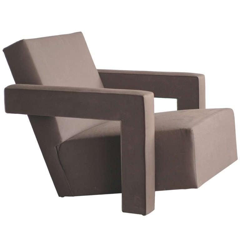 1960s Gerrit Rietveld Utrecht Chair For Sale