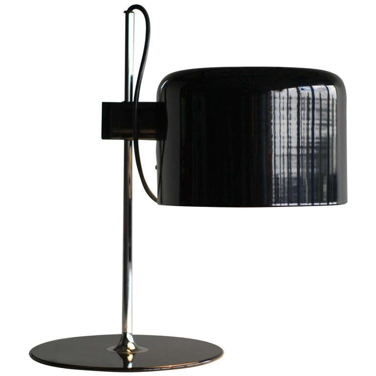 joe colombo for oluce coupe table lamp at 1stdibs